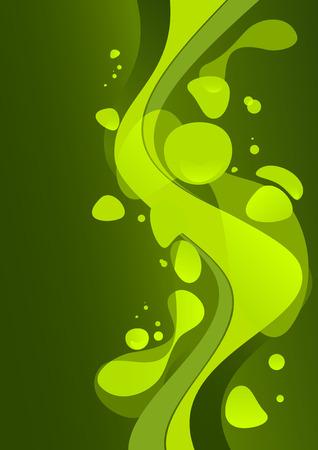 lav: green lava background