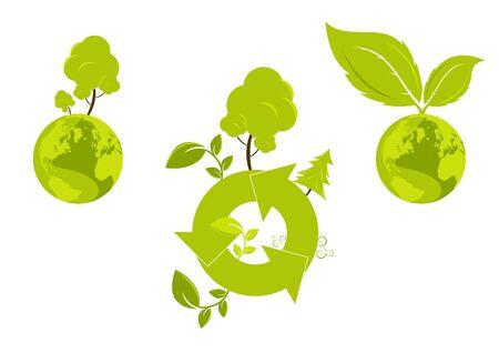 environment symbol Stock Vector - 3264598