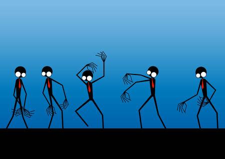 przerażający: biznes zombie