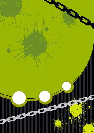 chain background grunge Vector