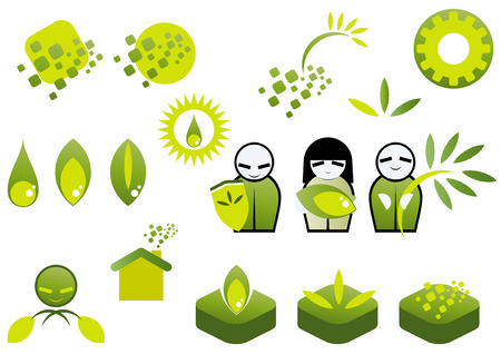 environment symbol collection Vector