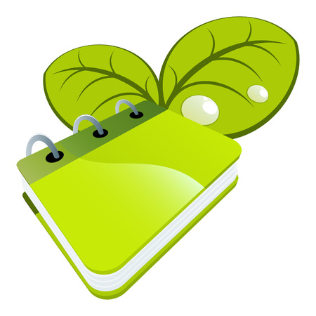 logo icons: nature book logo