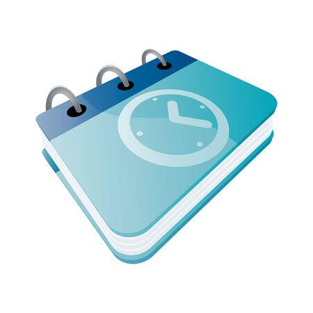 calendar vector: modern organizer symbol