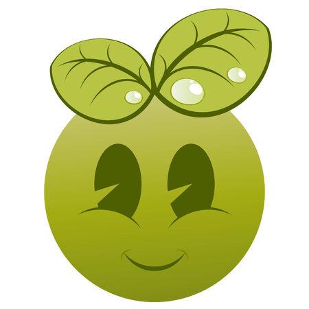 modern ecology logo Vector