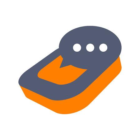 modern blog logo Vector