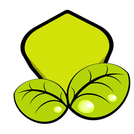modern nature logo Stock Vector - 4712355