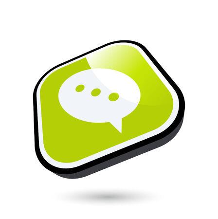 Symbole de la communication moderne