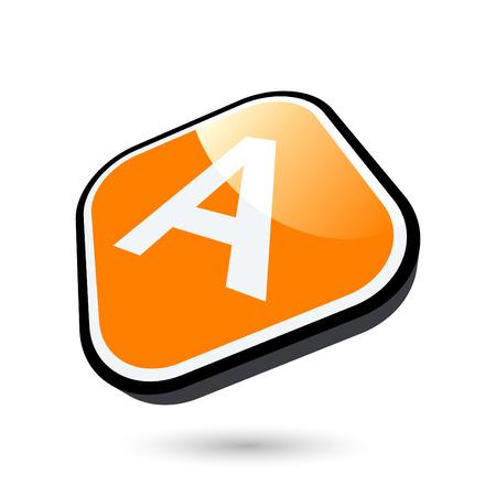 modern letter sign Stock Vector - 5061086