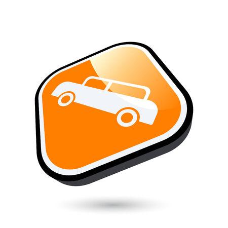 modern car sign Vector