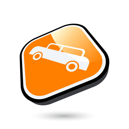 modern car sign Vector