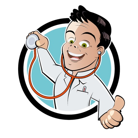 面白い漫画の医者
