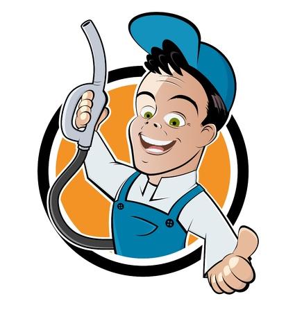 grappig gas jockey