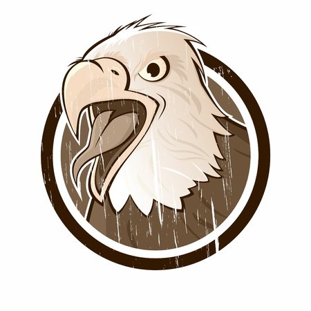 vintage eagle sign Stock Vector - 13197810