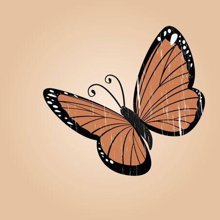 cartoon butterfly: mariposa, dibujos de �poca