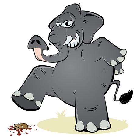 olifant en de muis