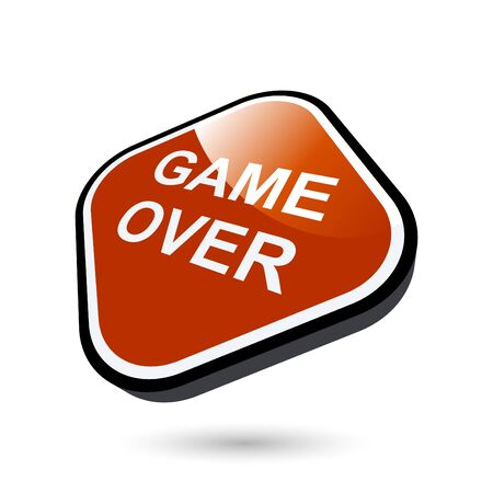game over: game over sign