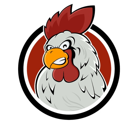 zły znak rooster