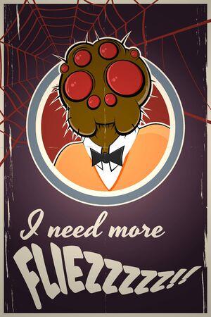 spider needs more flies Stock Photo - 15710500