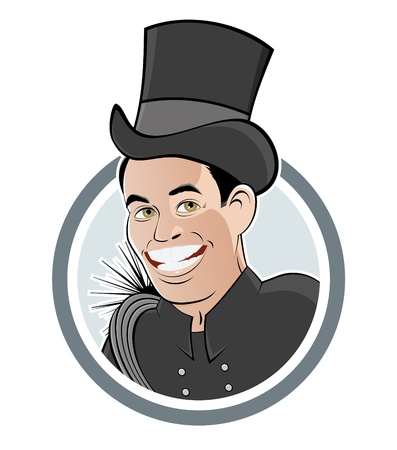 funny chimney sweeper Vector