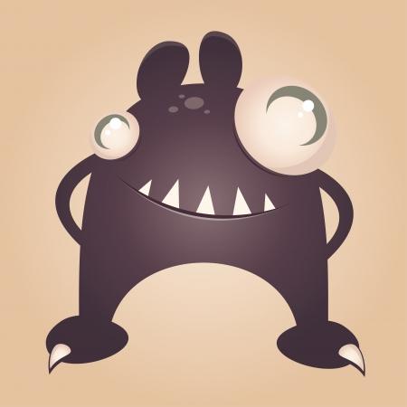 funny cartoon monster Stock Vector - 17841364