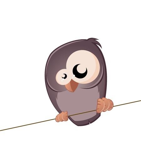 funny bird Stock Vector - 17841327