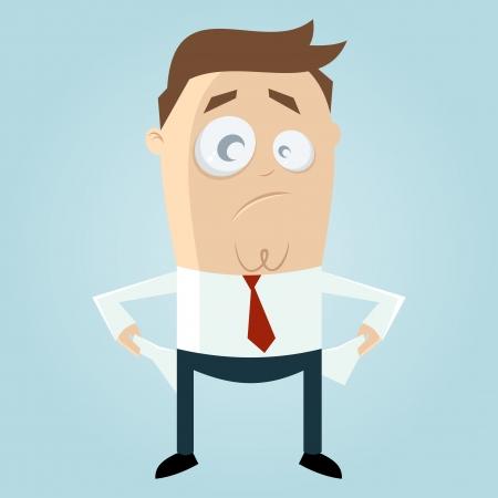 schlechte Karikatur Mann