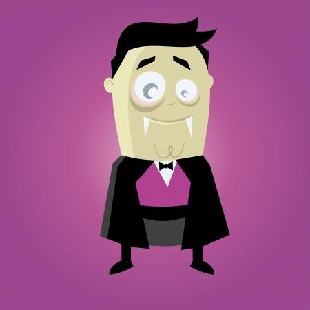 funny cartoon vampire Stock Vector - 20104223