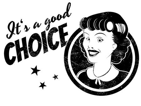 good choice Stock Vector - 21818598