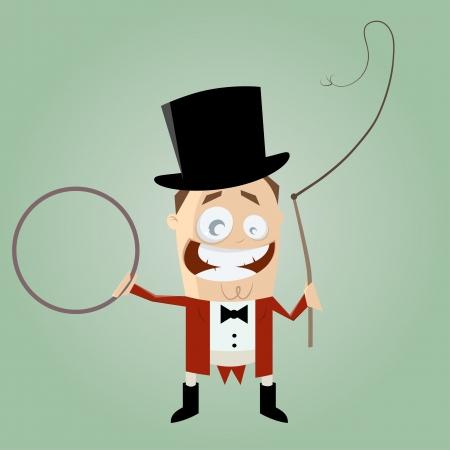 whip: funny cartoon ringmaster