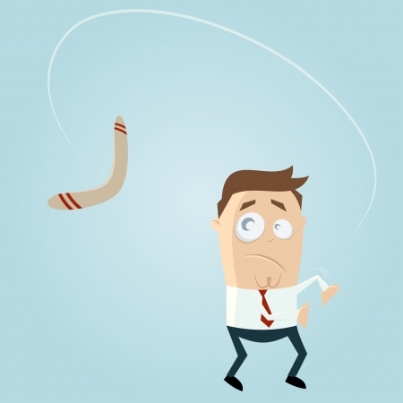 boomerang is coming back Illustration