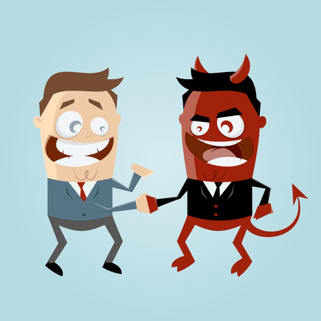 sin: agreement with the devil