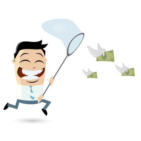 catching money Vector