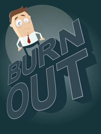 burnout: cartoon burnout background