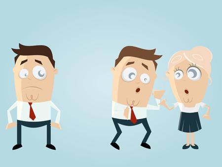 mobbing: office gossip