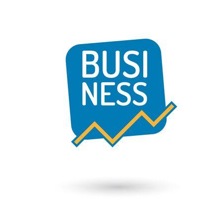 business sign: modern business sign