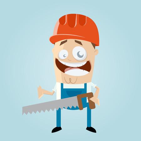 面白い漫画建設労働者