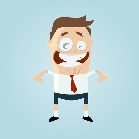 funny: funny businessman in shorts
