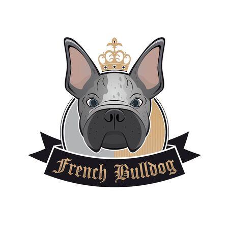 french bulldog: french bulldog sign