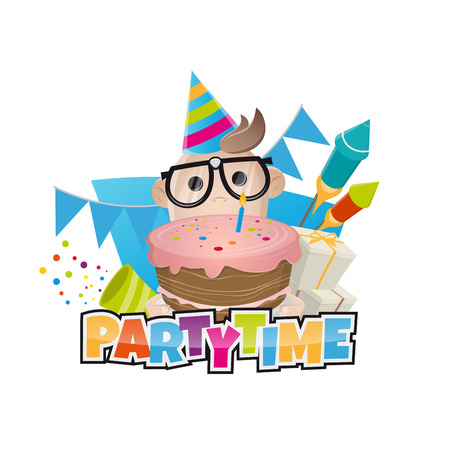 funny birthday: funny birthday party man