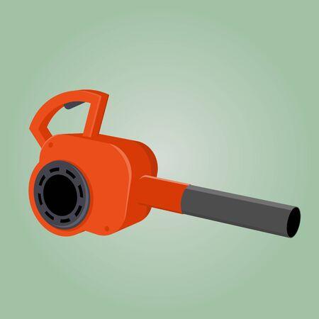 blower: cartoon leaf blower