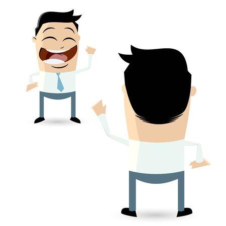 greeting: businessman greeting