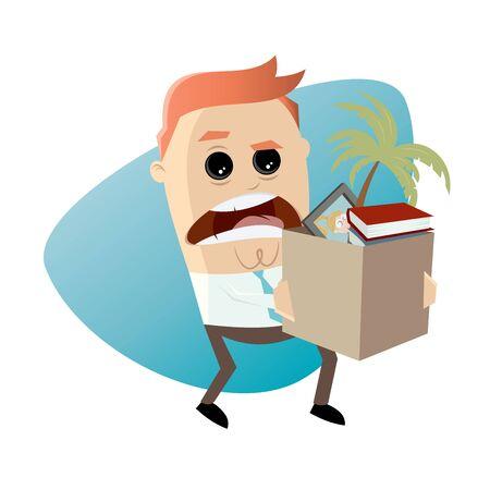 boos werknemer stoppen met zijn baan