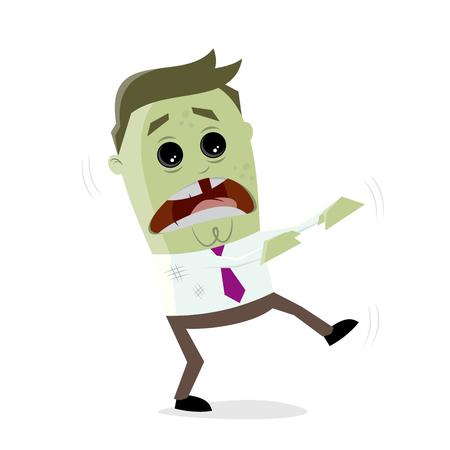 lustiges Geschäft Zombie Mann