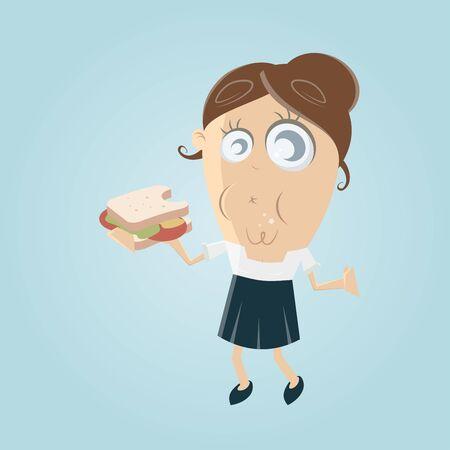 Essen Sandwich-Cliparts