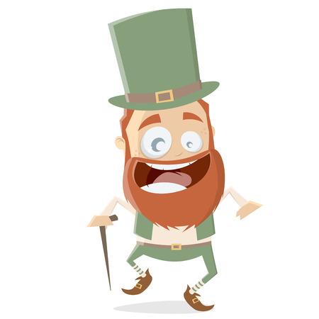 lustige irische Kobold-Cliparts