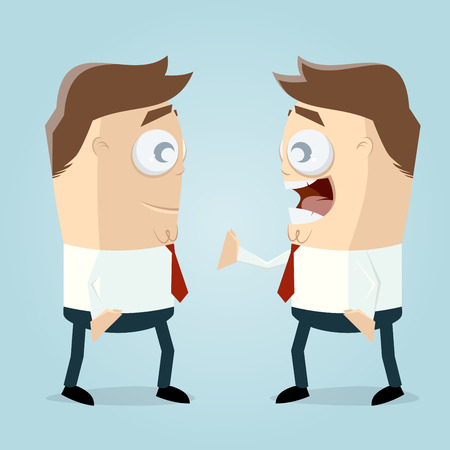 funny businessman clipart
