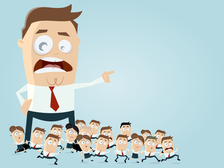 leadership business clipart Illustration