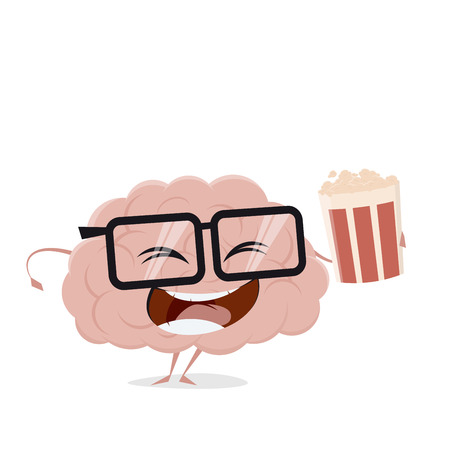 happy brain food clipart