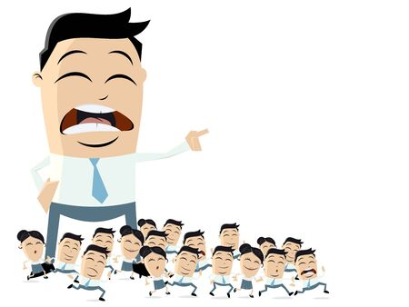 leadership business clipart Illustration