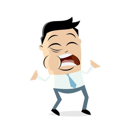 Toothache pain clipart man sad